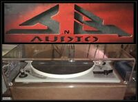 """Bogen """"NEW"""" JnB Audio Turntable Dust Cover ( 3 week build )   -= Made in USA =-"""