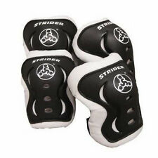 New Strider Knee Elbow Pad Set Black Toddler Accessory FITS 18 MONTHS - 5 YEARS