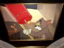 Tom and Jerry Hanna Barbera Signed Cel Yankee Doodle Mouse Rare Animation Cell