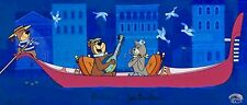 Hanna Barbera Signed Yogi Cel Hey There Its Yogi Bear Rare Number 1 Edition Art