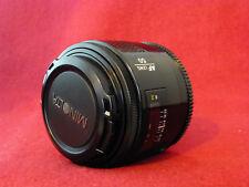 Sony Minolta Maxxum AF 50mm 1.7 Autofocus Portrait Prime Sony Alpha A Lens