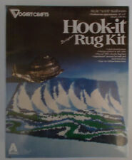 "Vogart Crafts Latch Hook Rug Kit *Sailboats* Htf Sealed 20"" x 27"""