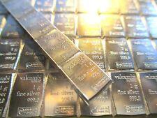 1 Gram .999 Fine Silver Bullion Bar - Valcambi Suisse - Single Silver Bar