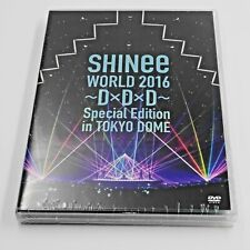 SHINee WORLD 2016~D×D×D Special Edition in TOKYO DOME DVD JAPAN
