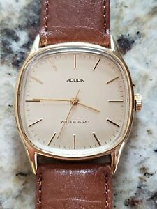 Mens Vintage 1993 Acqua by Timex MECHANICAL watch, excellent condition