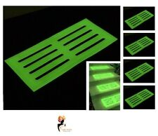 GLOW IN THE DARK STAIR MAT 39 x 18 cm High Visibility Tread Safety Step Mats