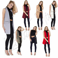 Unbranded Blazer Knee Length Coats & Jackets for Women