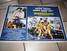 007 MOONRAKER OPERAZIONE SPAZIO fotobusta Roger Moore J.Bond C,CLERY