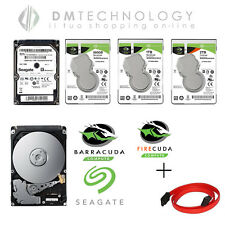 "HARD DISK INTERNO 2,5"" SEAGATE SATA 160GB/500GB/1TB/2TB NOTEBOOK PC+CAVETTO SATA"
