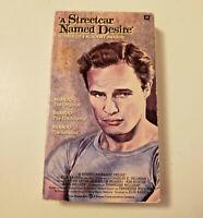 A Streetcar Named Desire VHS 1987 Marlon Brando Drawing Design