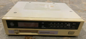 GE Spacemaker AM FM Radio Cassette Player 7-4260A Tested Works