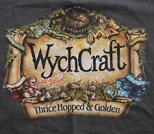 Wychwood Brewery XL WychCraft Thrice Hopped Golden T Shirt UK Goblin Beer Tee