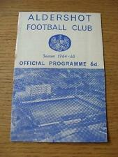 16/01/1965 Aldershot v Notts County  (Rusty Staples). No obvious faults, unless