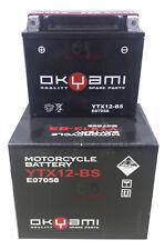 BATTERIA OKYAMI YTX12-BS 12 V 10 AH SYM GTS 250 2007 2008 JOYMAX 250 2006 2007