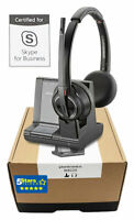 Plantronics Savi 8220-M W8220-M Wireless Headset (207326-01) - Brand New