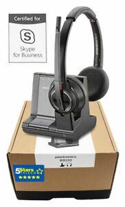 Plantronics Savi 8220-M W8220-M Wireless Headset (207326-01) - Brand New