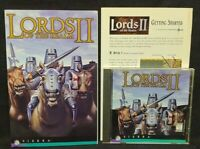 Lords of the Realm II (PC, 1996) - Game + Manual - Mint Disc 1 Owner !