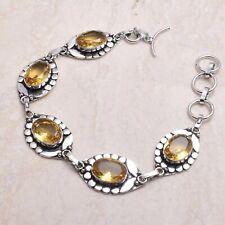 20 Gms Ab 71429 Citrine Ethnic Handmade Bracelet Jewelry