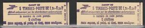 FRANCE paire de carnets SABINE 2059c1 et c1a neufs**
