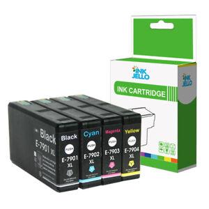 4 Ink Cartridge For Epson WorkForce Pro WF4630DWF WF4640DTWF WF5110DW WF5690DWF