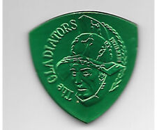 2000 Krewe Of Gladiators Green Captain'S Shield Medal Mardi Gras Doubloon