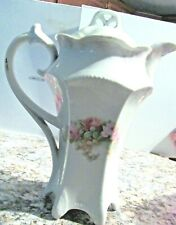 """Beautiful 10"""" Tall Porcelain Tea Or Coffee Server-Germany -numbered"""