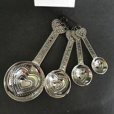 Ganz 4-Piece Measuring Spoon Set Hearts Love EG1681