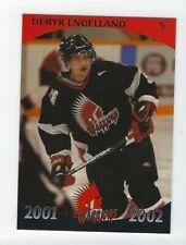 2001-02 Moose Jaw Warriors (WHL) Deryk Engelland (Vegas Golden Knights)