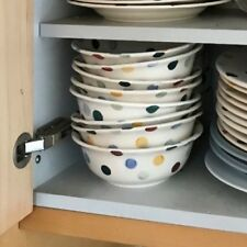 Emma Bridgewater Polka Dot Cereal Bowl x2 in Excellent used cond 1/4