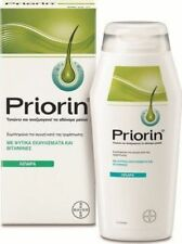 BAYER PRIORIN SHAMPOO FOR REVITALIZING WEAK HAIR OILY HAIR 200ml