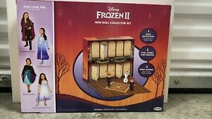 Frozen 2 Adventures in Arendelle Collector Set  New Fast Ship Surprise Elsa Anna
