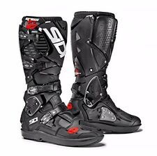 SIDI Crossfire 3 SRS Motorcycle BOOTS Black Black 44