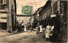 CPA Stenay-L'Hótel de Ville et la Rue Porte de Bourgogne (232500)