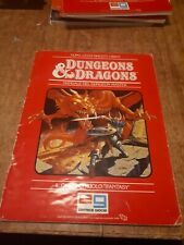 Dungeons dragons Manuale Del Dungeon Master 1985 TSR editrice giochi