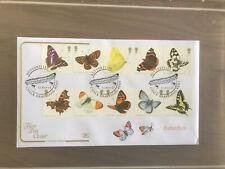 GB Cotswold FDC Butterflies 2013