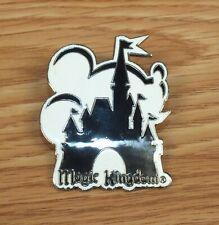 Disney's Magic Kingdom - Black & White Mickey & Cinderella's Castle Pin