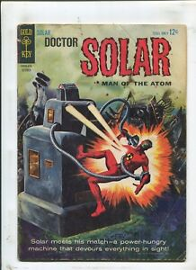 DOCTOR SOLAR, MAN OF THE ATOM #9 - POWER-HUNGRY MACHINE! - (4.0) 1964
