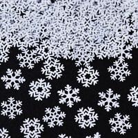 Christmas Theme Nail Glitter Sequins White Snowflake 3D Nail Art Decoration DIY