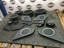 2007 AUDI S5 8T COUPE SET OF BANG & OLUFSEN SPEAKERS AND COVERS
