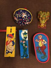 Vintage Kirchhof Life Of The Party Noise Maker Lot Of 5
