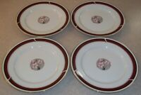 SET OF 4   NITTO  DYNASTY R 73    DINNER  PLATES 10 3/4 inch      PERFECT COND.