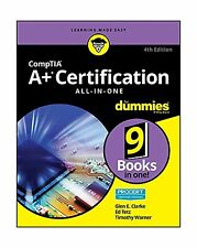 CompTIA A+ Certification All-in-One For Dummies (For Dummies (C... Free Shipping