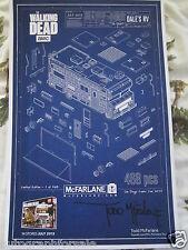 Todd McFarlane signed auto Walking Dead Dale's RV 2015 Comic-Con SDCC poster COA