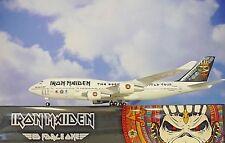 Skymarks Iron Maiden Boeing 747-400 1/200 con / Gear Skr899