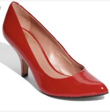 Vince Camuto Wendolyn Red Patent Leather Pumps Size 7.5