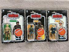 Star Wars Retro Collection - Boba Fett, Luke Skywalker, Han Solo - Wave 2