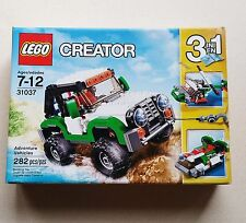 Lego Creator 31037 Adventure Vehicles Building Kit 3 in 1 Set 282 Pieces Car Toy