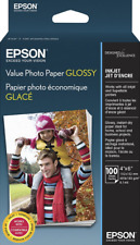 """Epson Value Photo Paper Glossy 100 Sheets 4x6"""" S400034"""