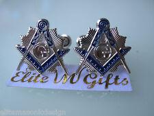 Masonic Master Mason  Cufflinks,  Silver Plated.