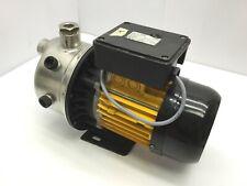 "Delta 1005M Self Priming Centrifugal Pump Voltage: 220VAC Ports: 1"" NPT 1/2"" NPT"